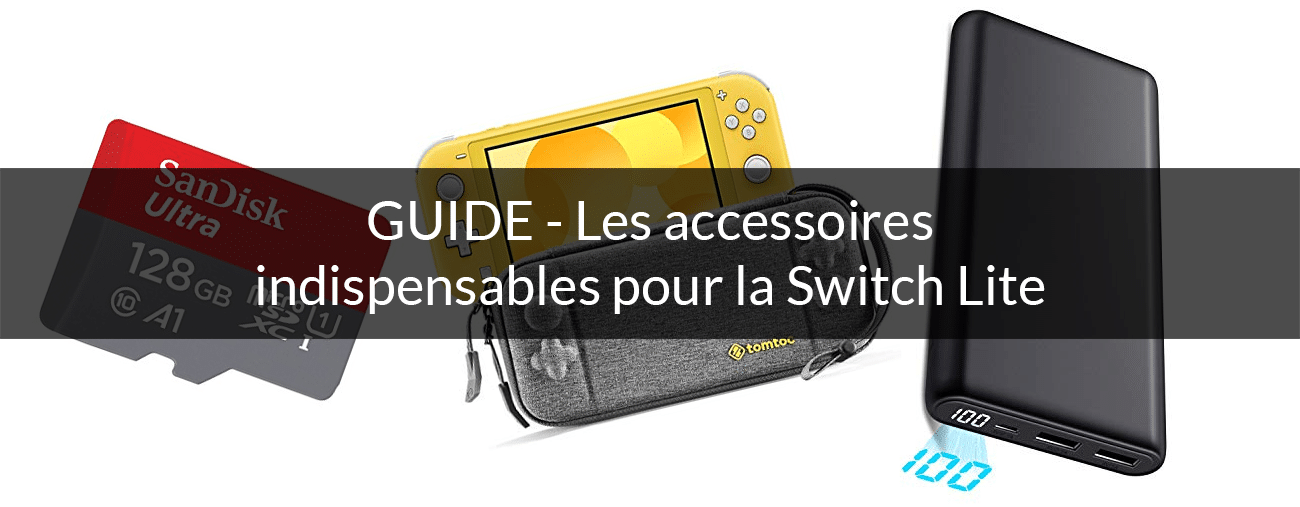 Guide Switch Lite accessoires