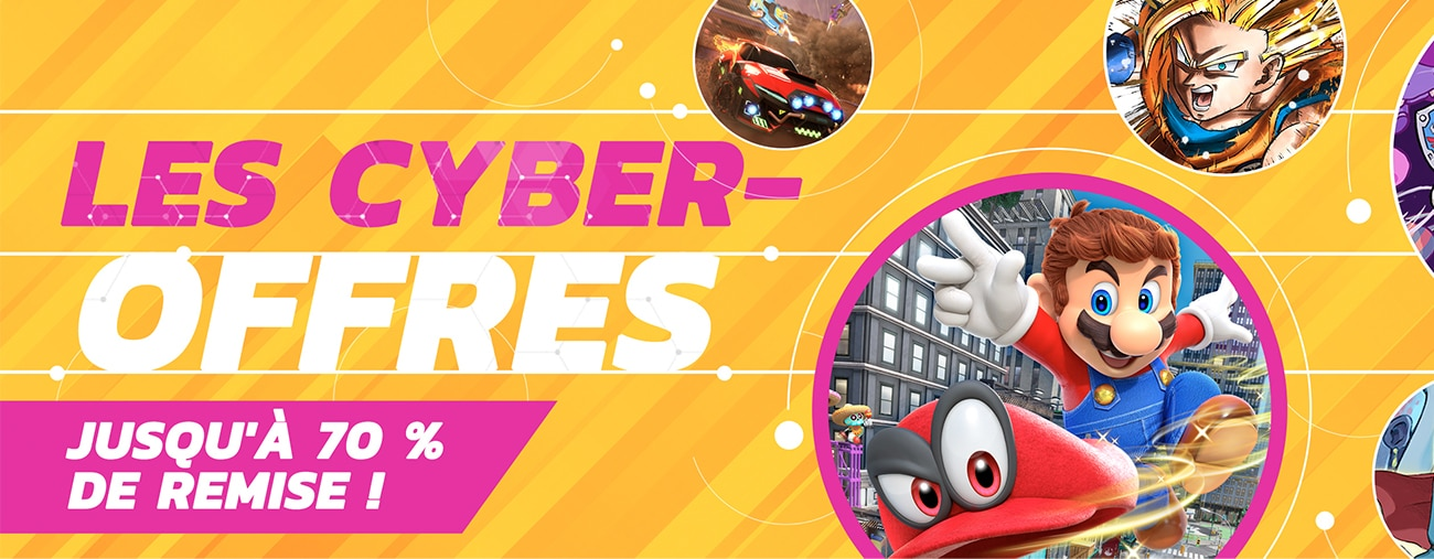 cyber offres nintendo switch eshop black friday