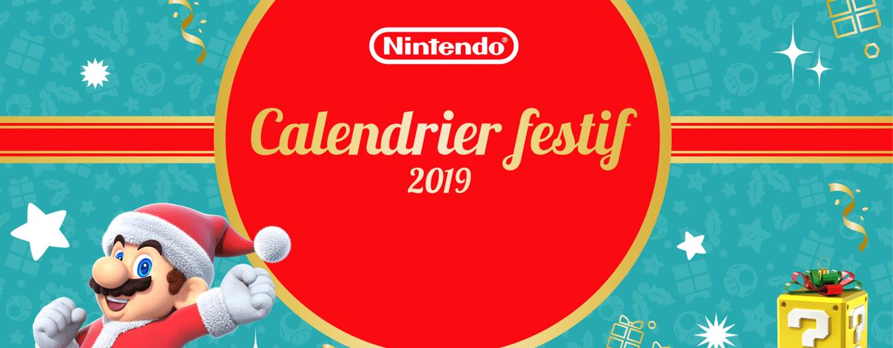 Nintendo calendrier de l'avent