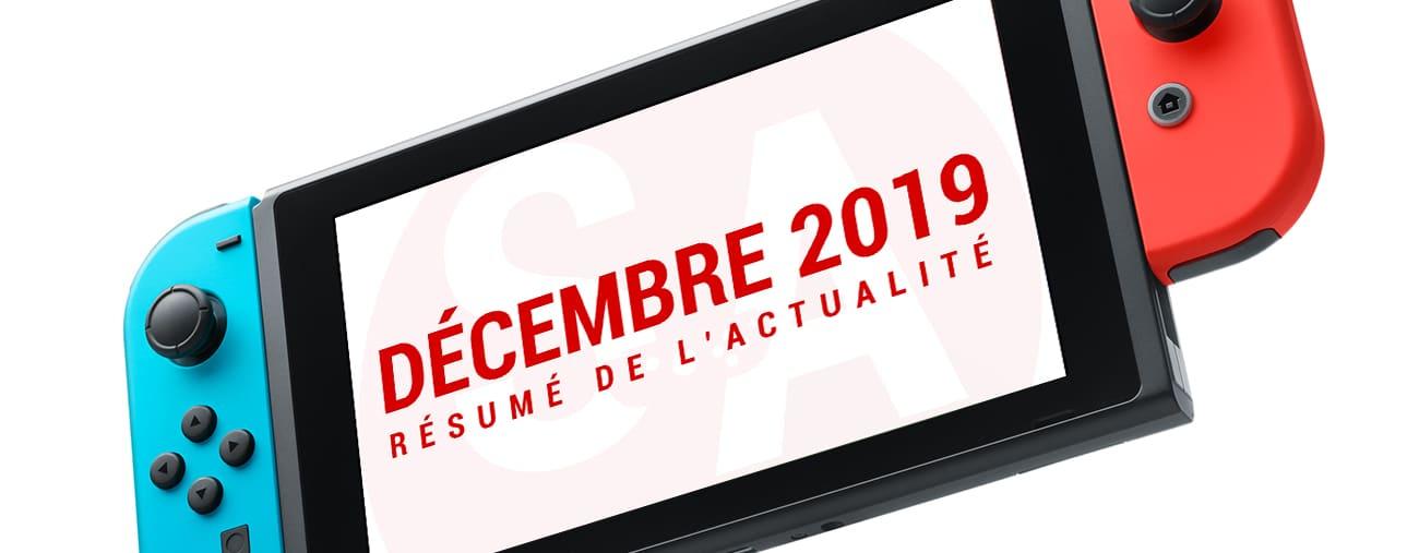 Résumé news Nintendo Switch décembre 2019