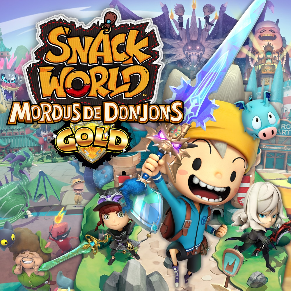 Snack World: Mordus de Donjons