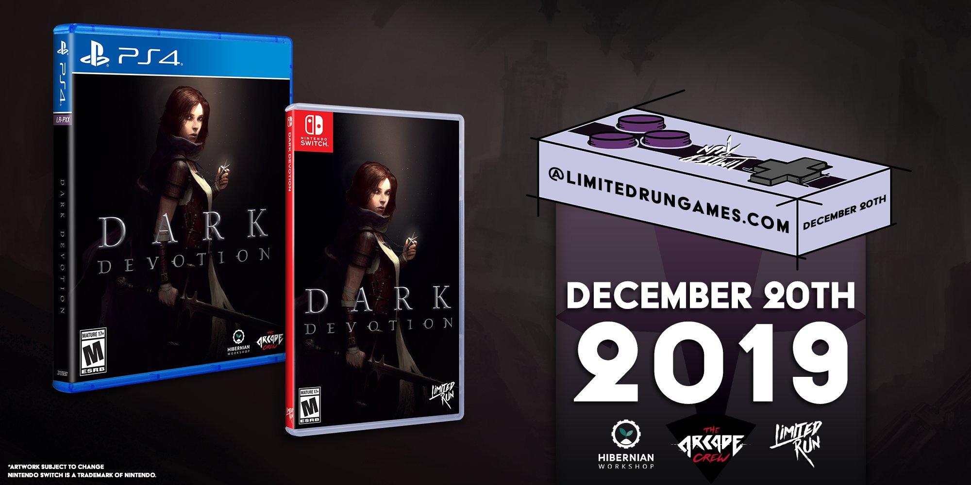 L'édition physique standard de Dark Devotion