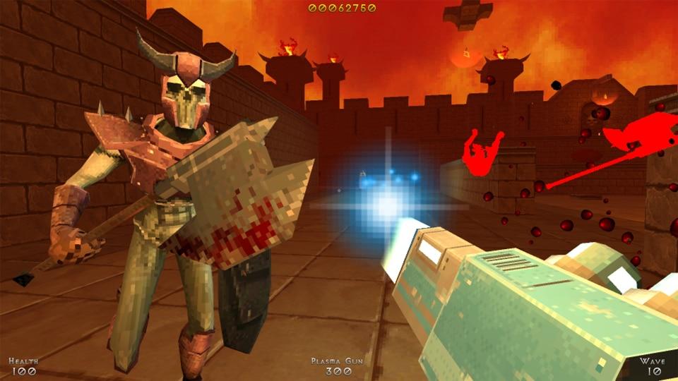 Demon Pit : combat