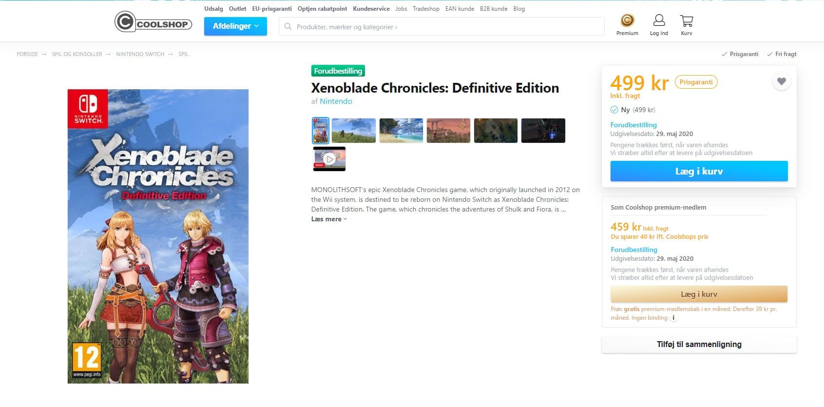 Xenoblade Chronicles: Definitive Edition date leak