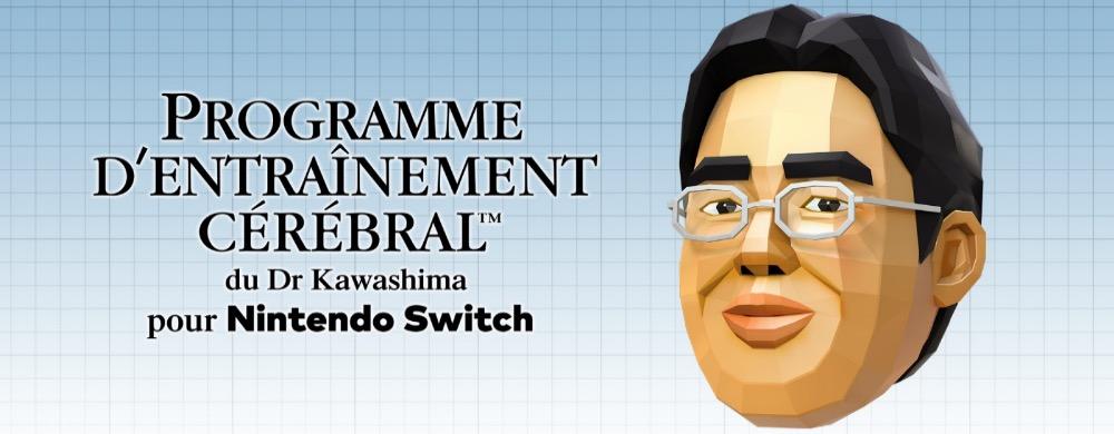 Programme d'Entraînement Cérébral Dr kawashima Switch