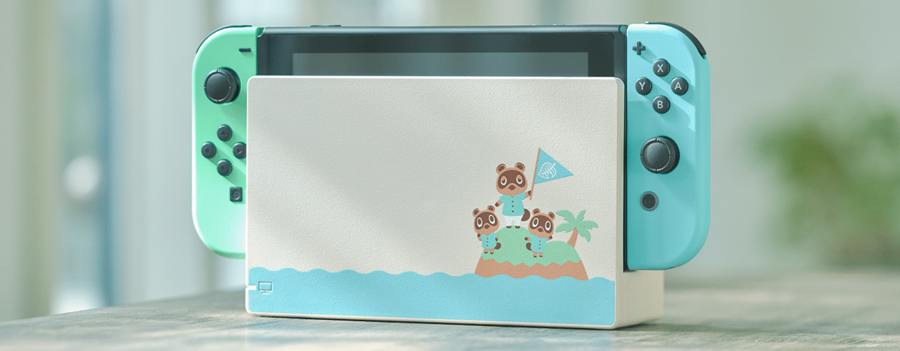 Nintendo Switch édition Animal Crossing: New Horizons