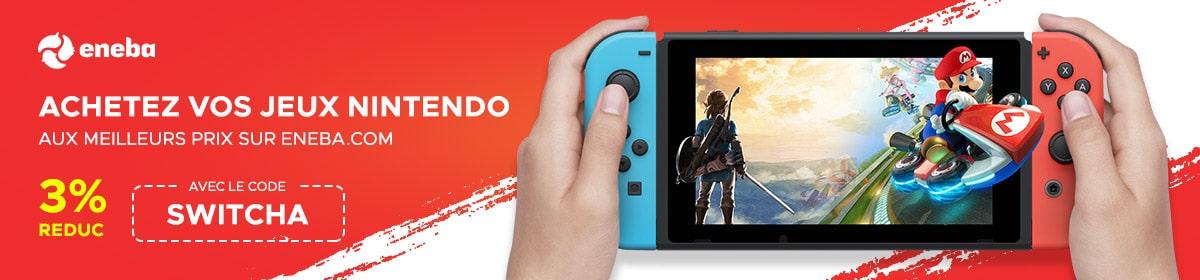 Acheter jeu Nintendo Switch pas cher
