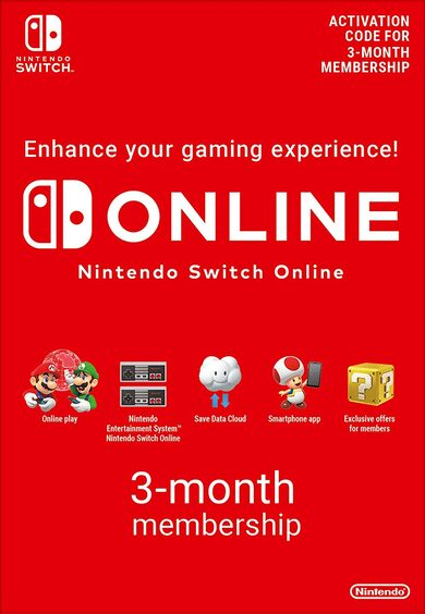 Abonnement Nintendo Switch Online