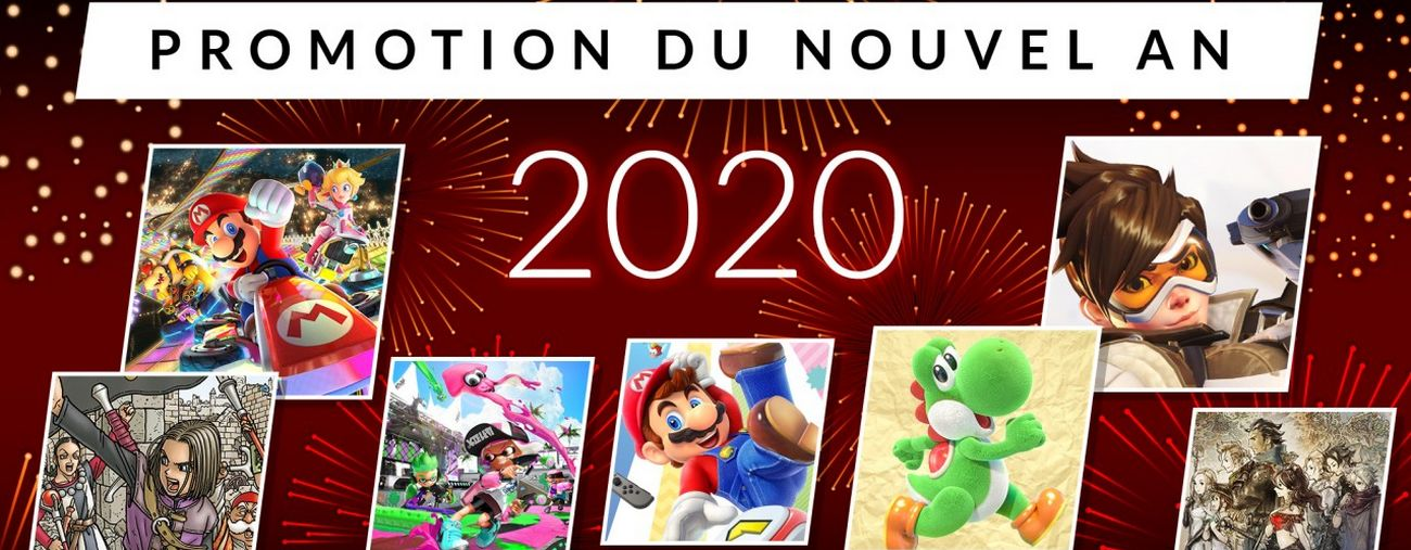 promotions nouvel an 2020 eshop switch bon plan