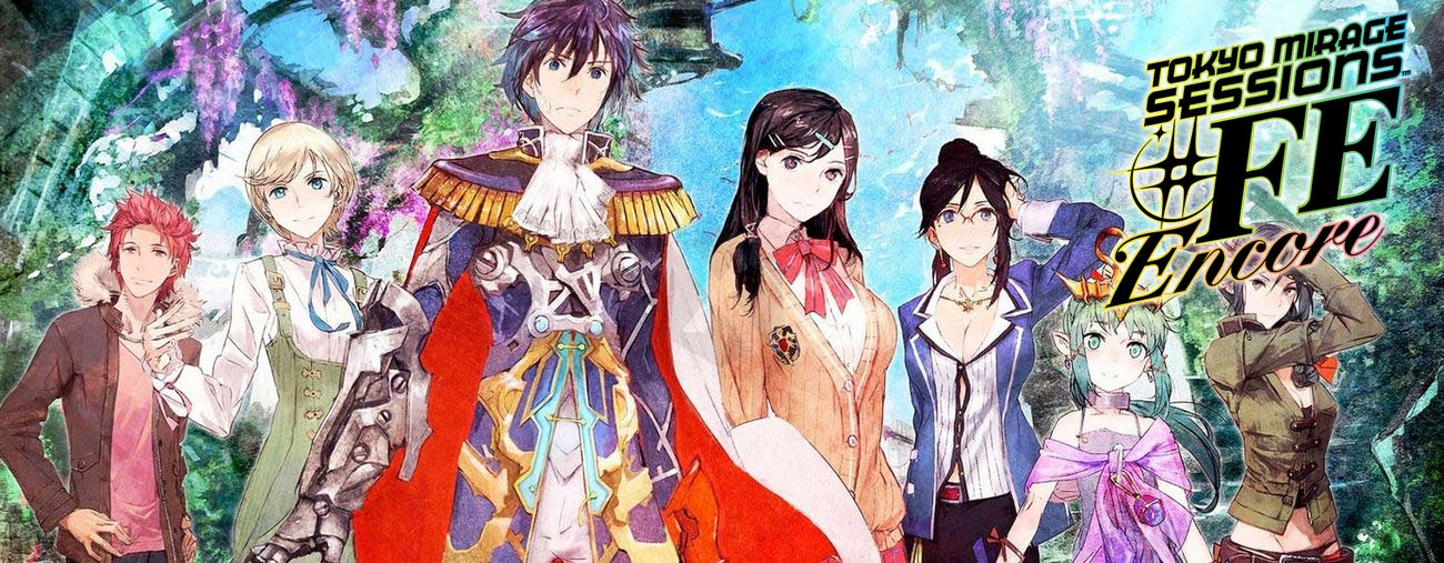 tokyo mirage sessions fe encore test nintendo switch