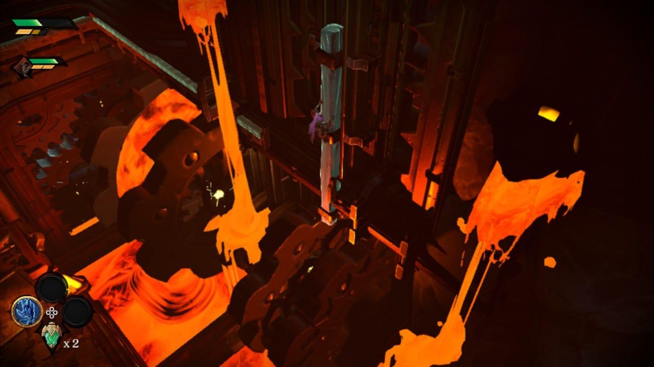 Darksiders Genesis: une phase de plateforme de
