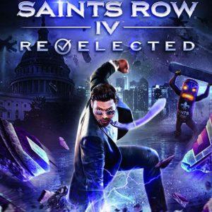 Saints Row IV Nintendo Switch Boxart