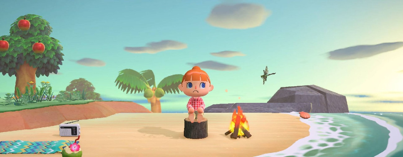 Animal Crossing New Horizons sad