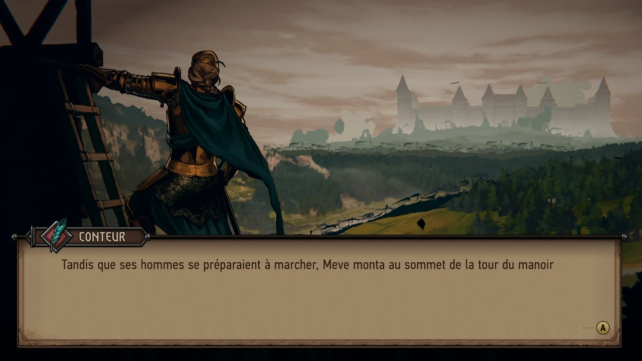 Thronebreaker The Witcher Tales la reine Meve
