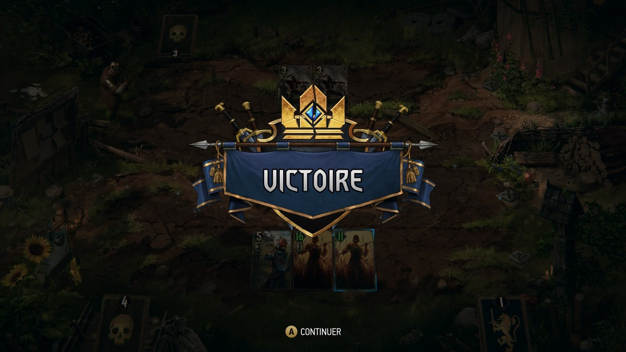 Thronebreaker The Witcher Tales : victoire