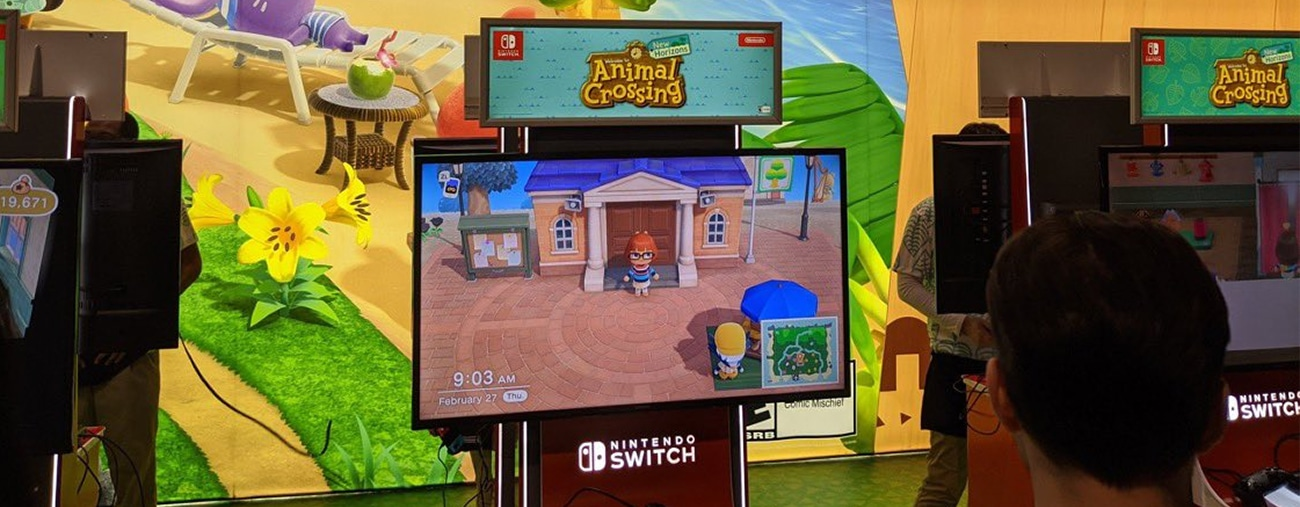 animal crossing new horizons pax