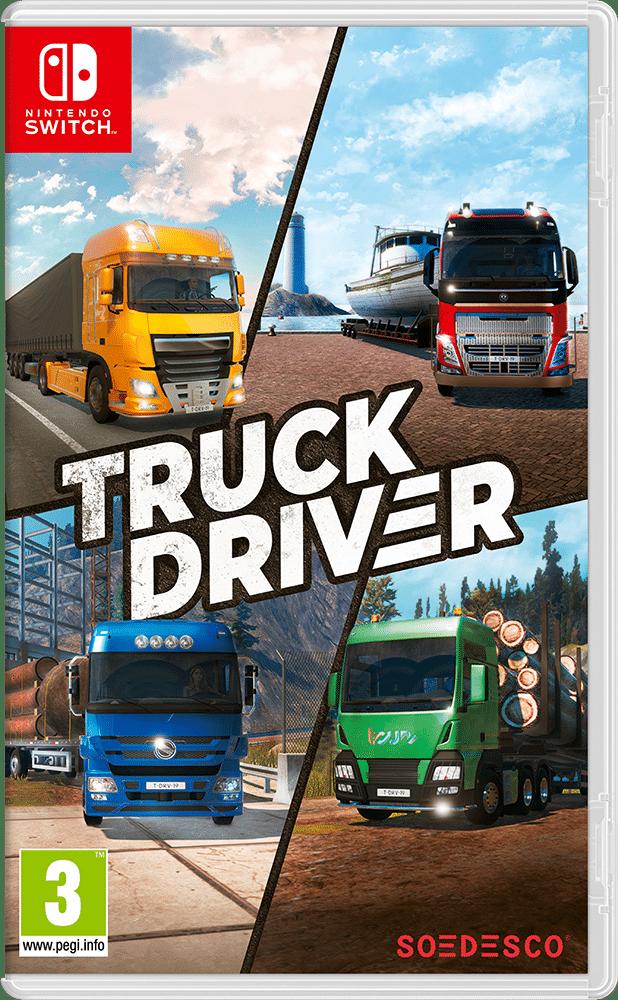 Truck Driver Nintendo Switch Boxart