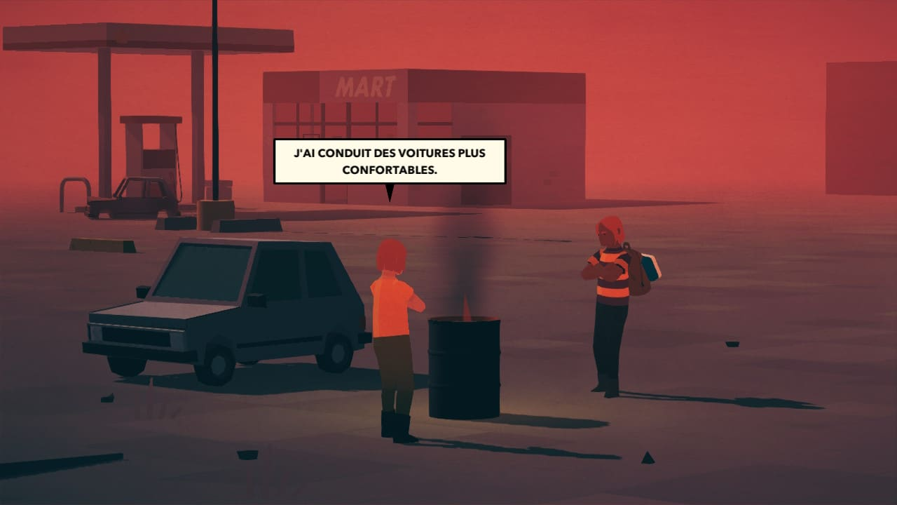 Overland : le campement