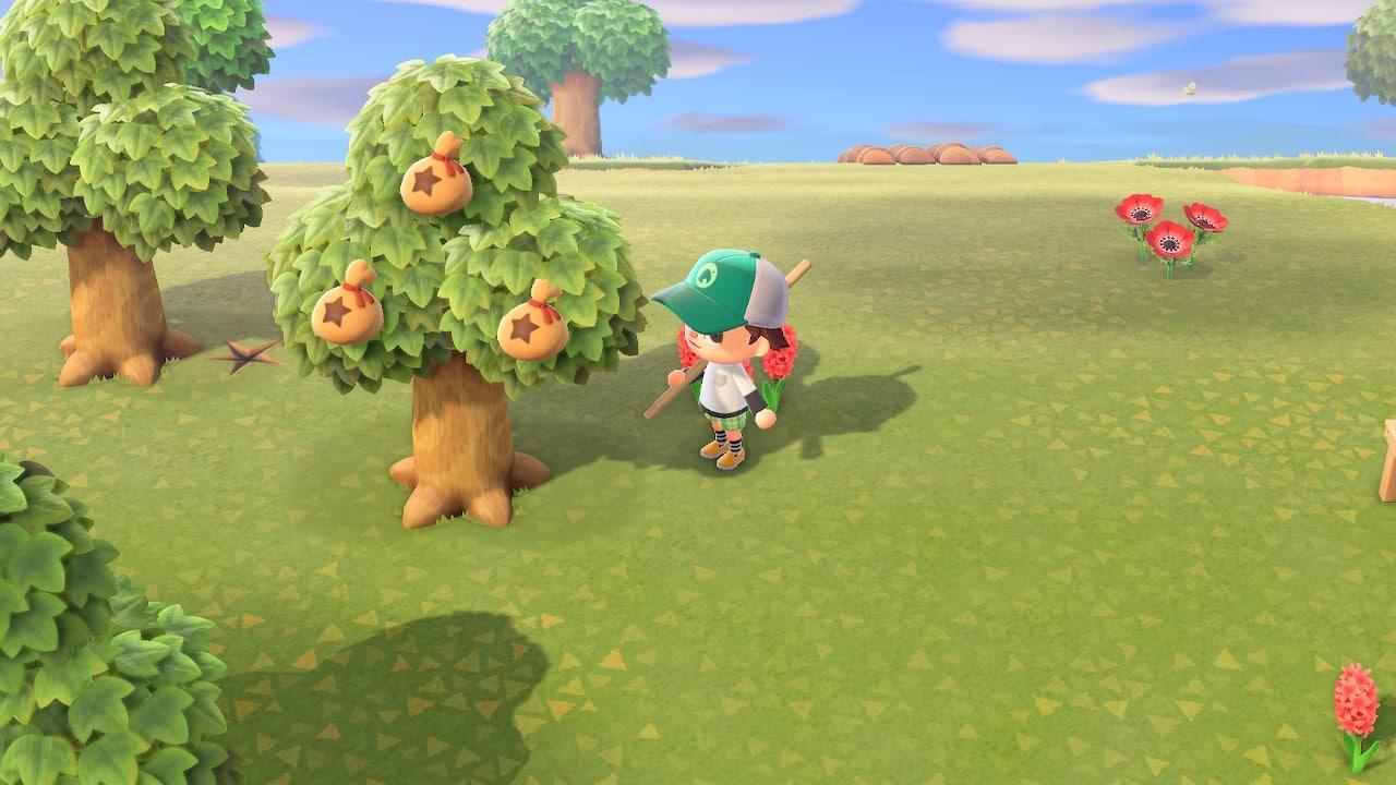 Animal Crossing arbre à clochettes