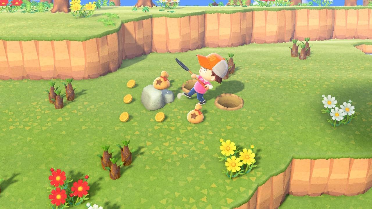 Animal Crossing pierre à clochettes