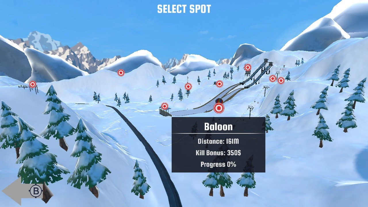 ski sniper switch levels