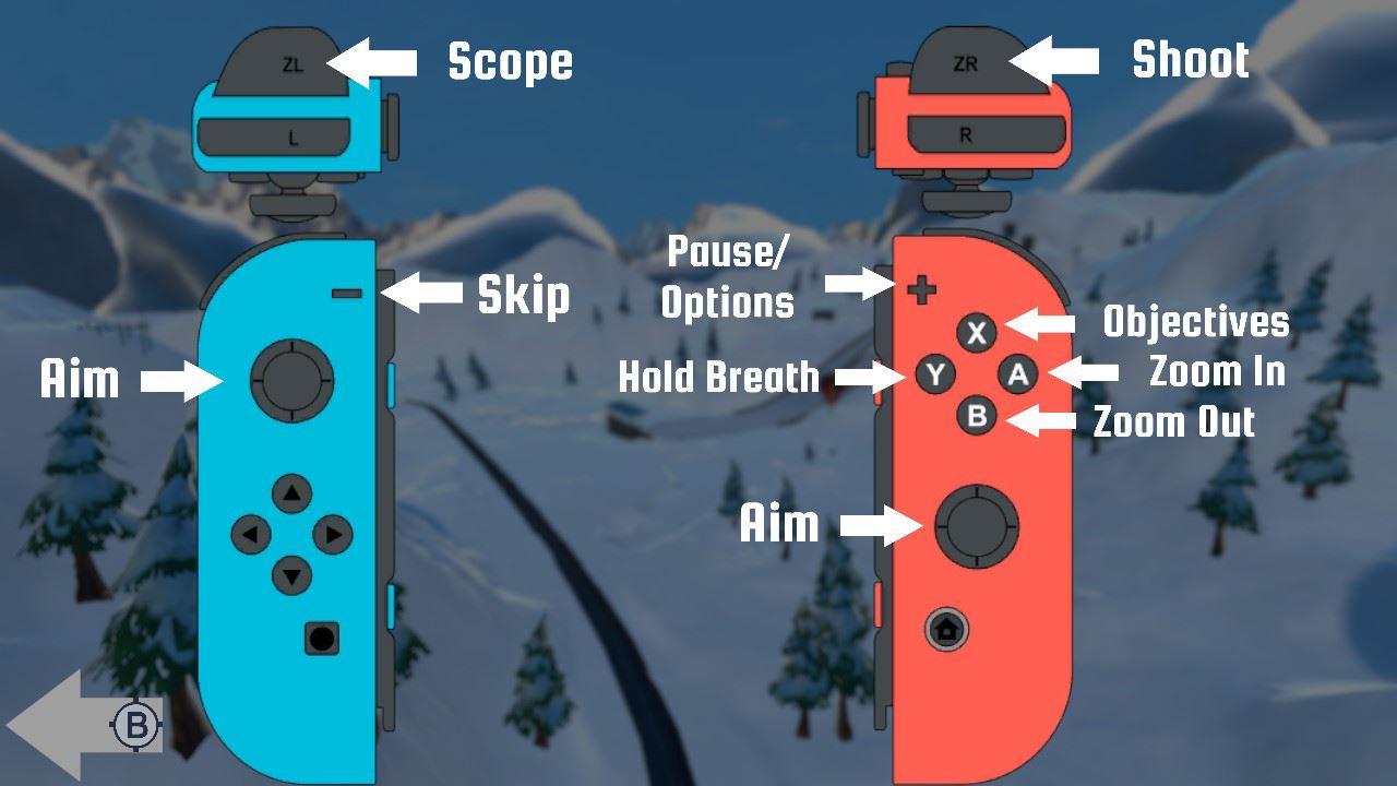 ski sniper switch controls