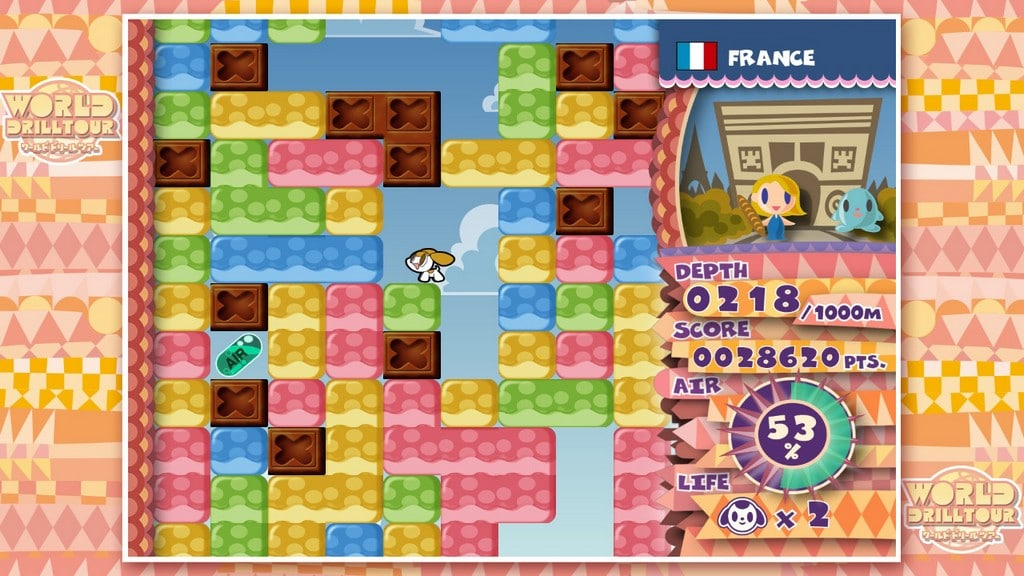 Mr. Driller DrillLand nintendo direct mini (1)