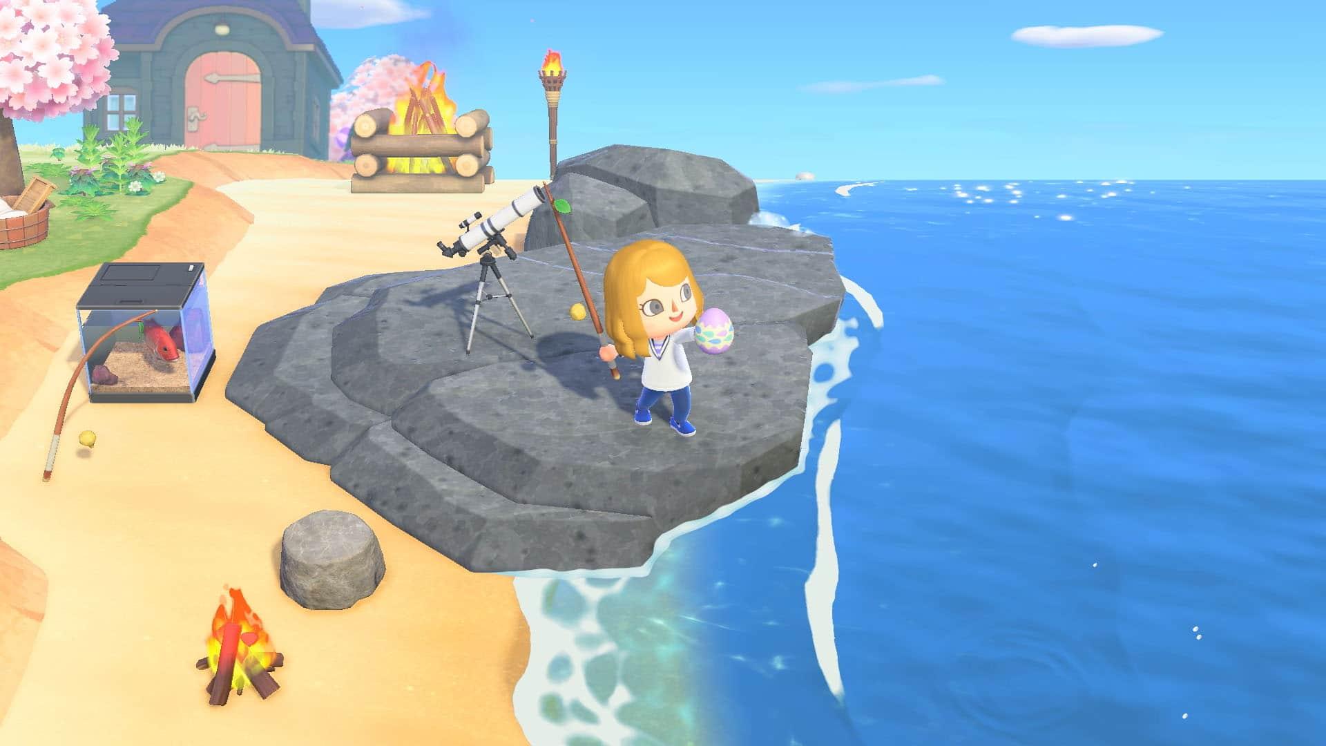 Animal Crossing: New Horizons pâques