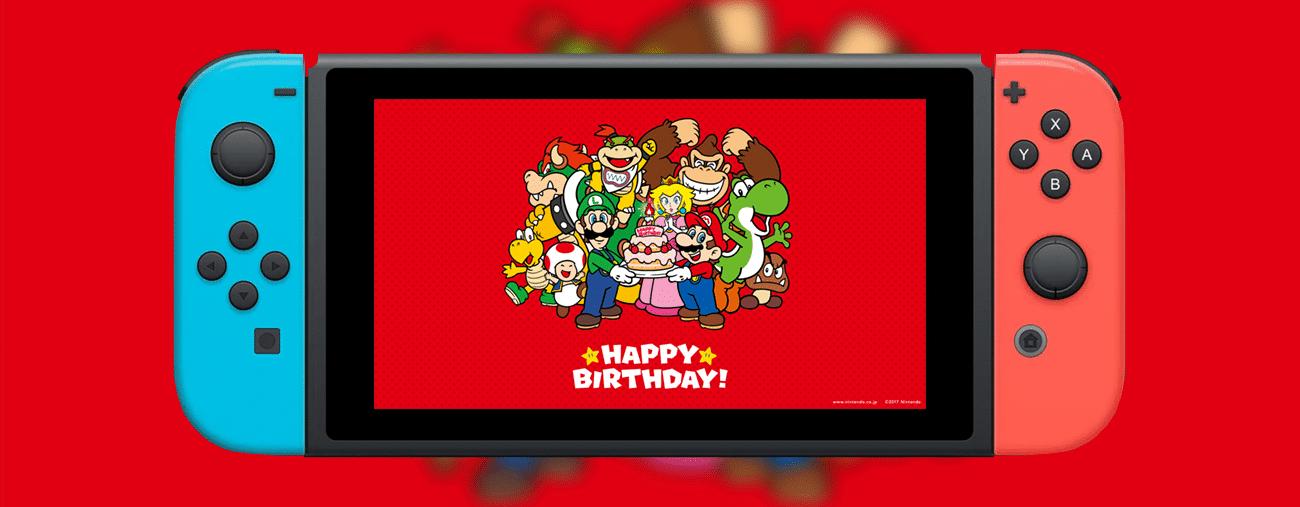 anniversaire nintendo Switch