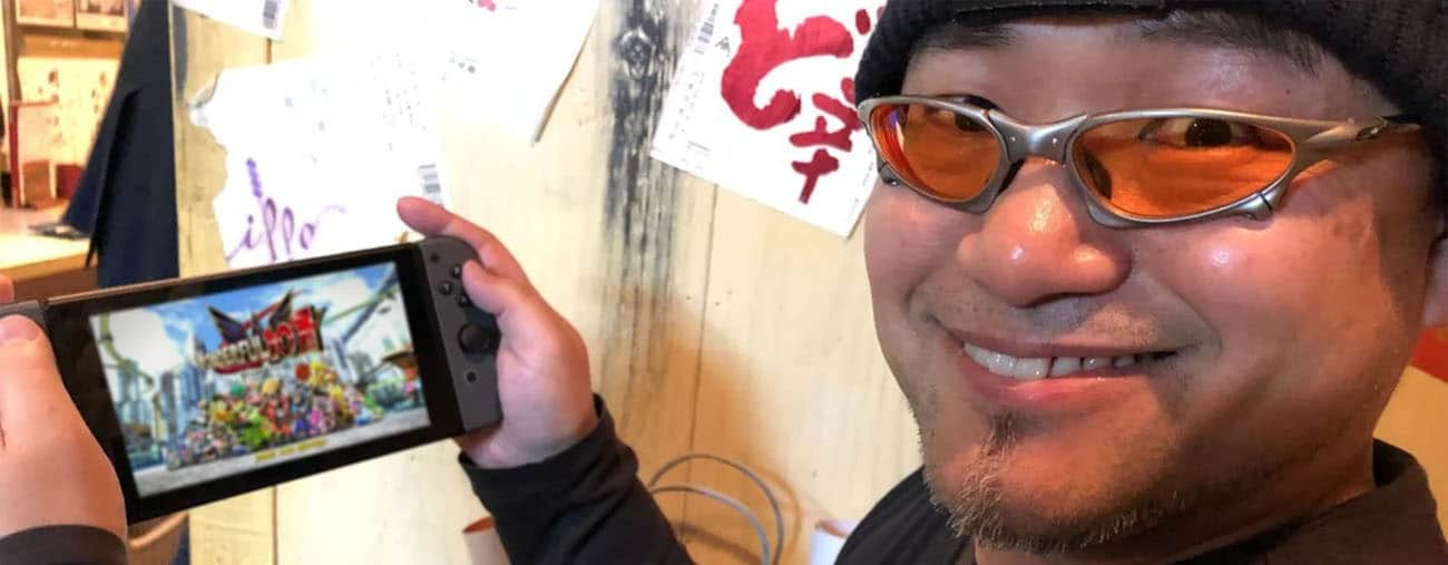 hideki kamiya the wonderful 101 remastered remerciements