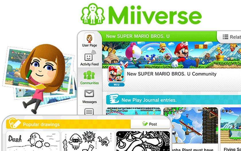 Miiverse sur Nintendo Switch