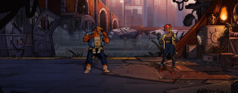 Streets of Rage 4 : la version physique dévoilée