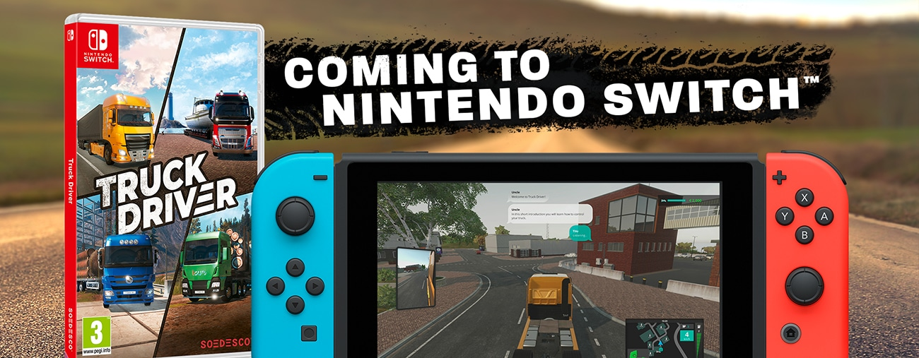 truck driver nintendo Switch