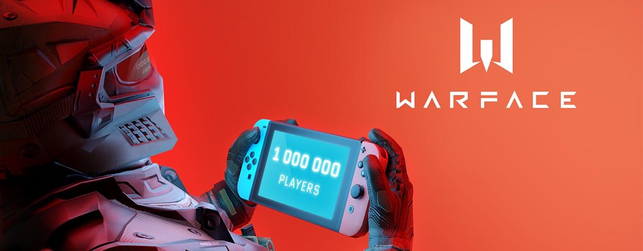 warface nintendo switch million de joueurs