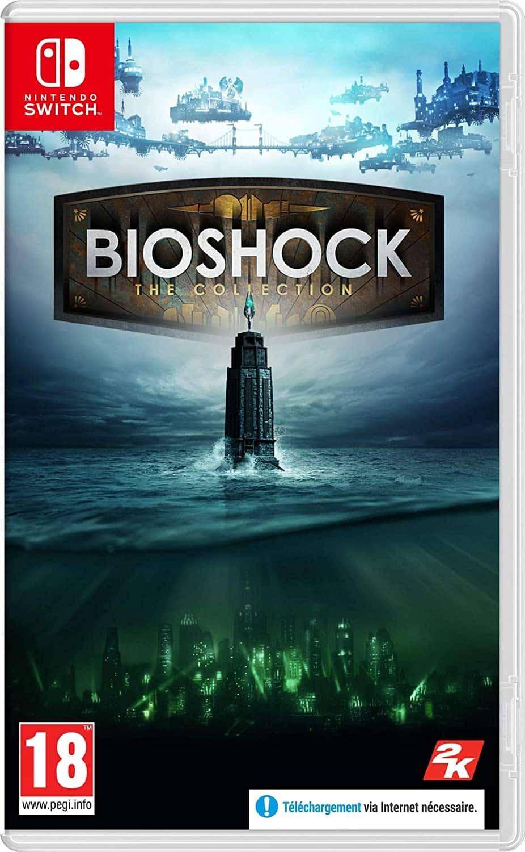 Bioshock: The Collection boxart Nintendo Switch