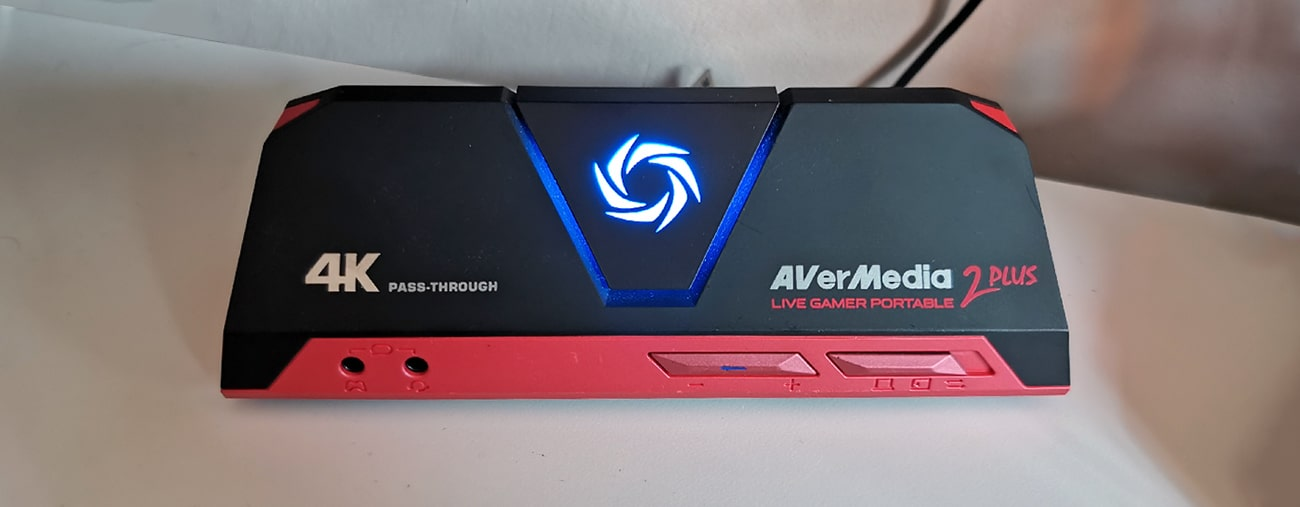 Avermedia LGP 2 Plus Nintendo Switch