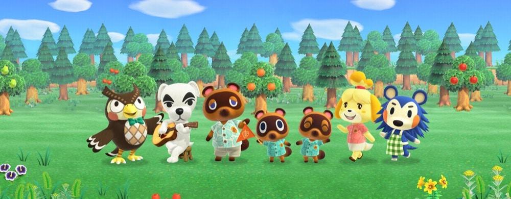 mise à jour Animal Crossing: New Horizons