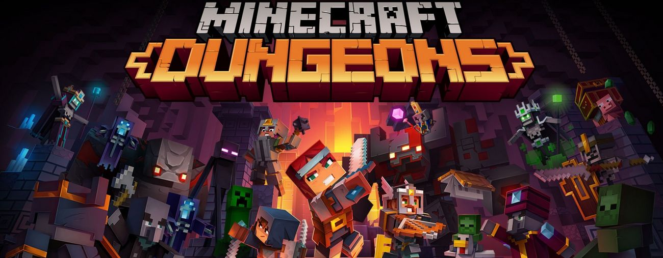 minecraft dungeons nintendo switch