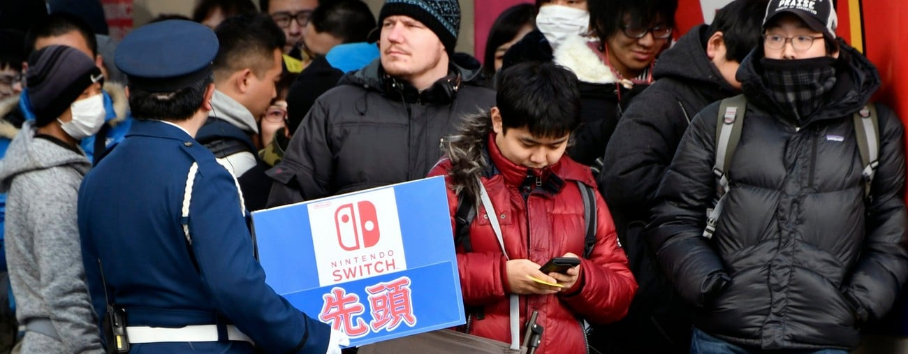 nintendo switch ruptures de stock solution