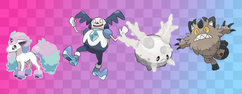 Pokémon Formes Galar