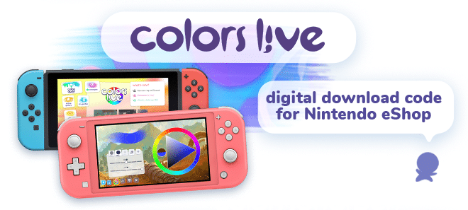 Colors Live Nintendo Switch