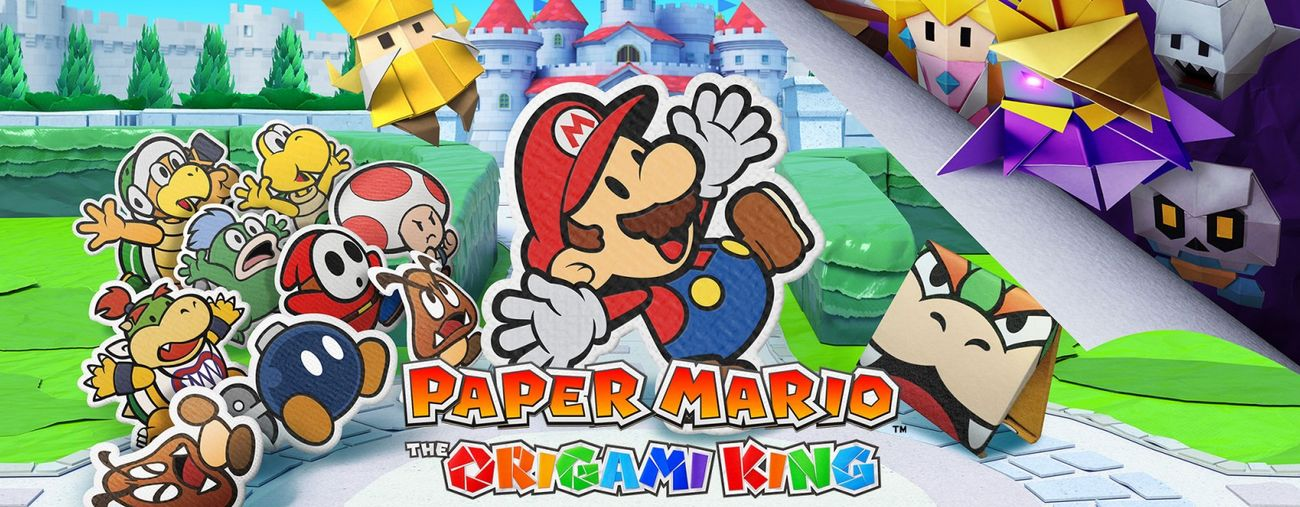 paper mario the origami king nintendo switch actu