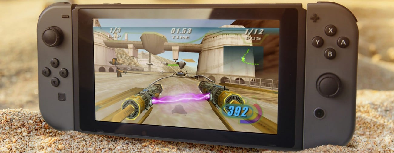 star wars episode I racer switch date de sortie