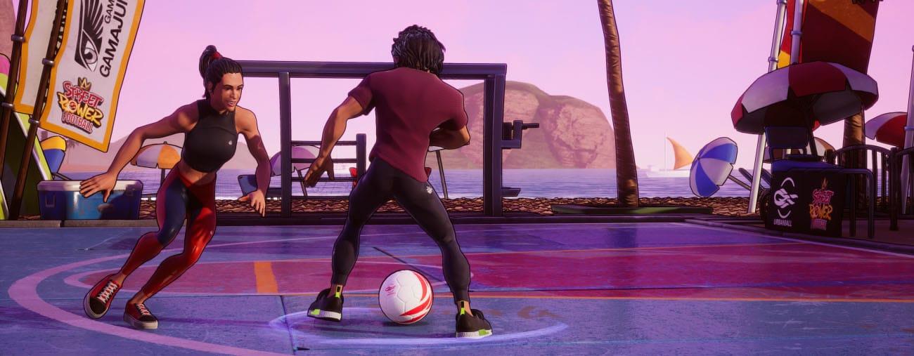 street power football mode freestyle gameplay
