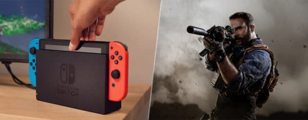 switch call of duty top des ventes us