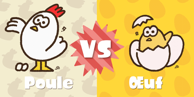 Splatoon 2 Poule vs Oeuf