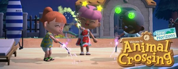 animal crossing new horizons mise à jour artifice reves