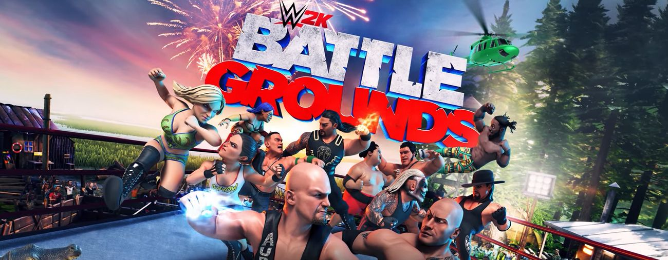 wwe 2k battlegrounds date de sortie