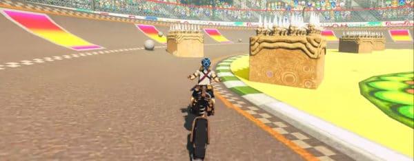 Circuit Zelda Mario Kart