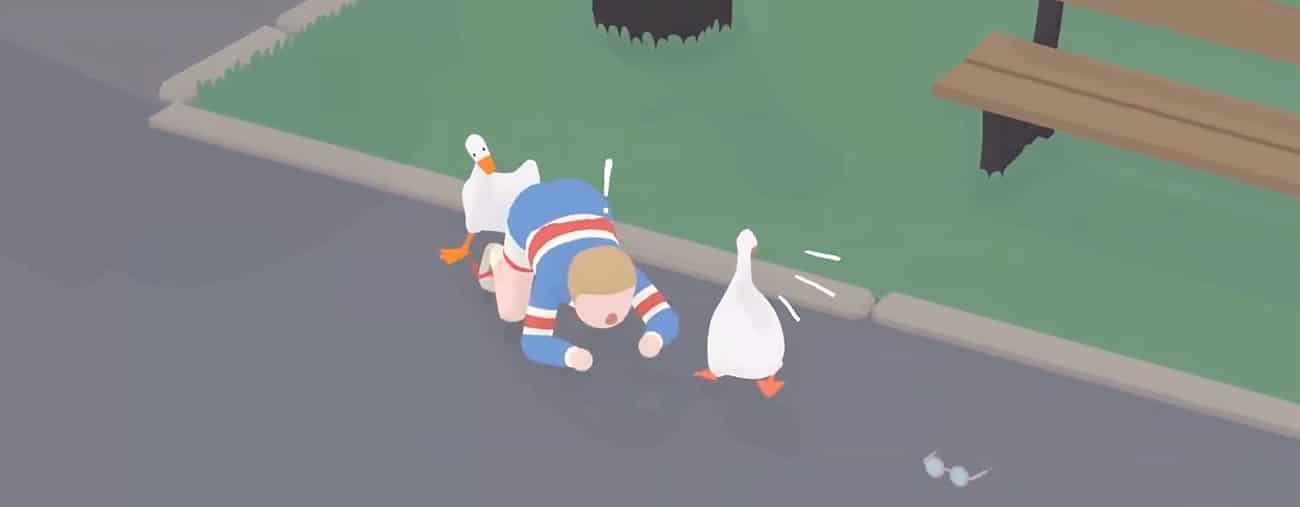 Untitled Goose Game mise à jour Nintendo Switch multijoueur